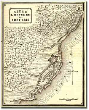 The War of 1812 - (Siege of Fort Erie)